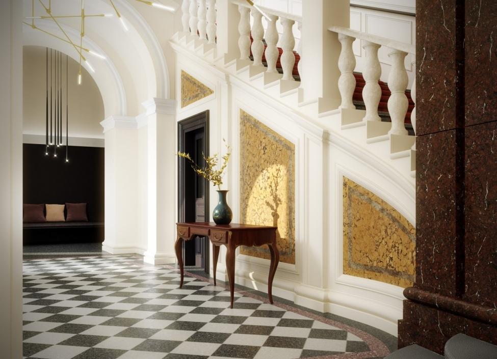 Luxusní byt Staré Město 98m 0