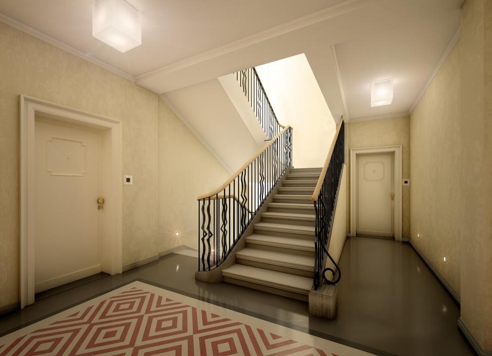 Luxusní byt v centru s balkonem 60m 1