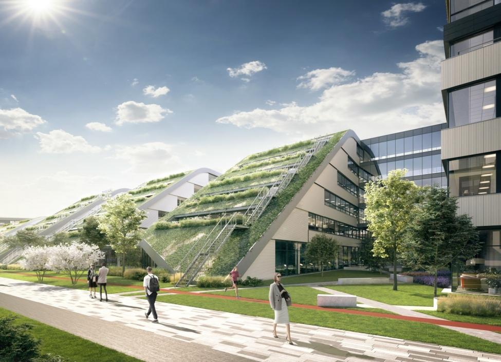 Moderní kanceláře k pronájmu, Praha 8 - 446 m2 0