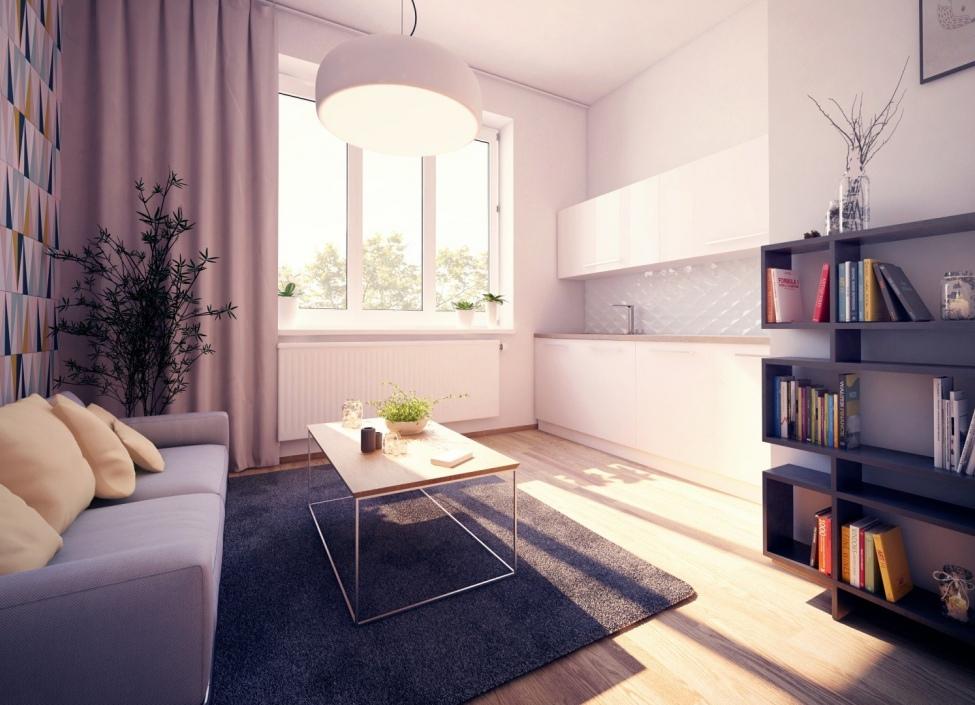 Luxusní byt na prodej Praha 8 - 45m 0