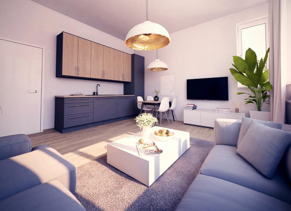 Luxusní byt na prodej Praha 8 - 45m 1