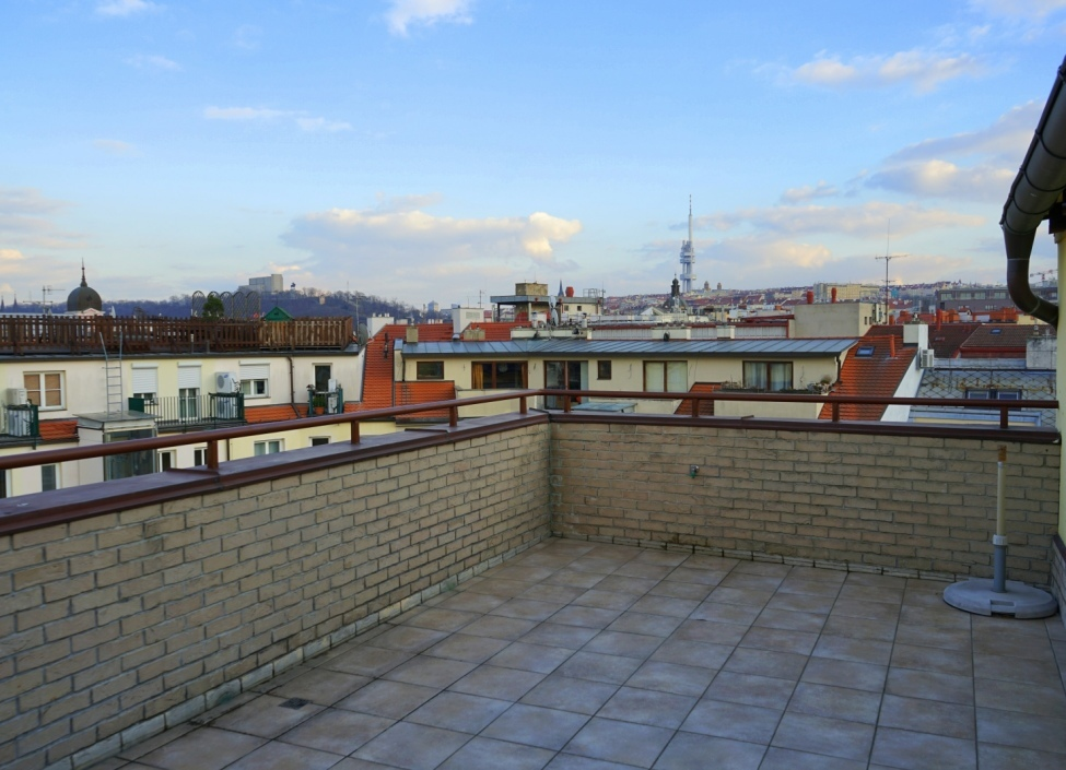 Mezonetový byt s terasou Praha 1-208m 1