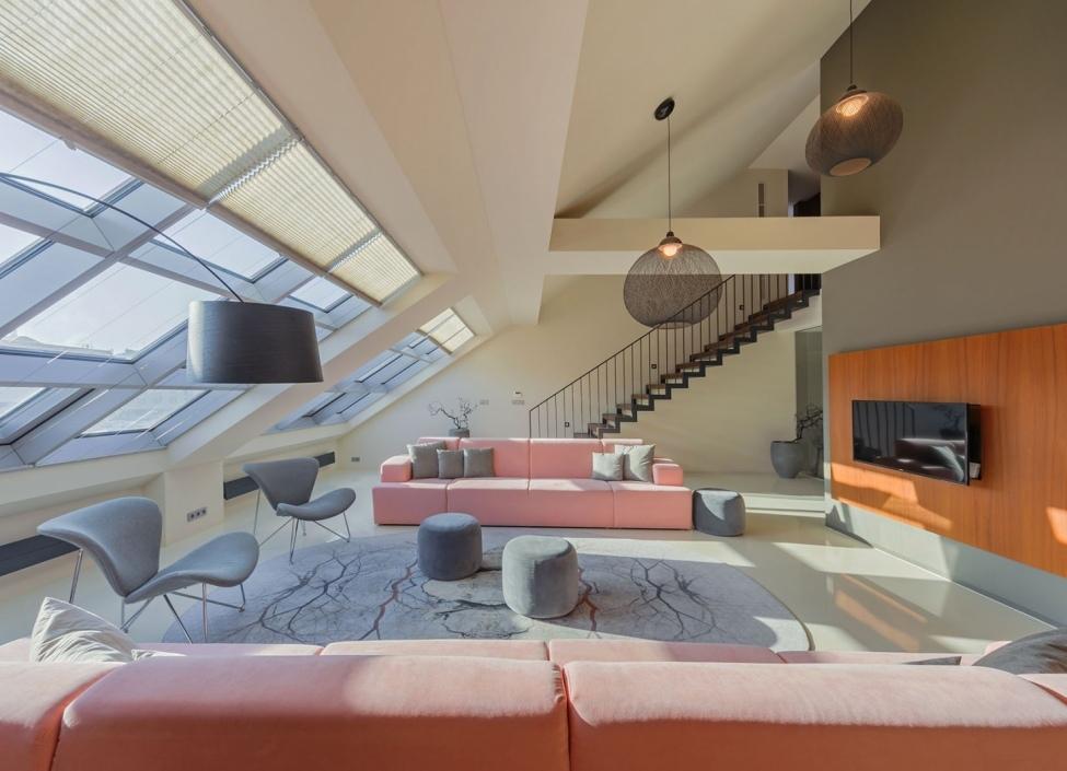 Luxury loft apartment with terrace Prague 1 - 310m 0