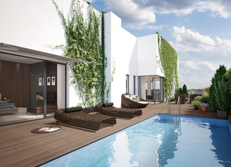Luxusní byt na Praze 7 - 73m 0