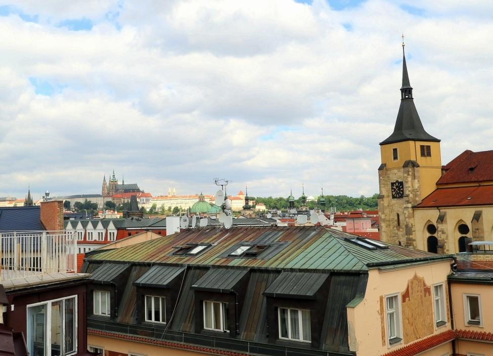 Byt s výhledem na Pražský hrad 800m 0