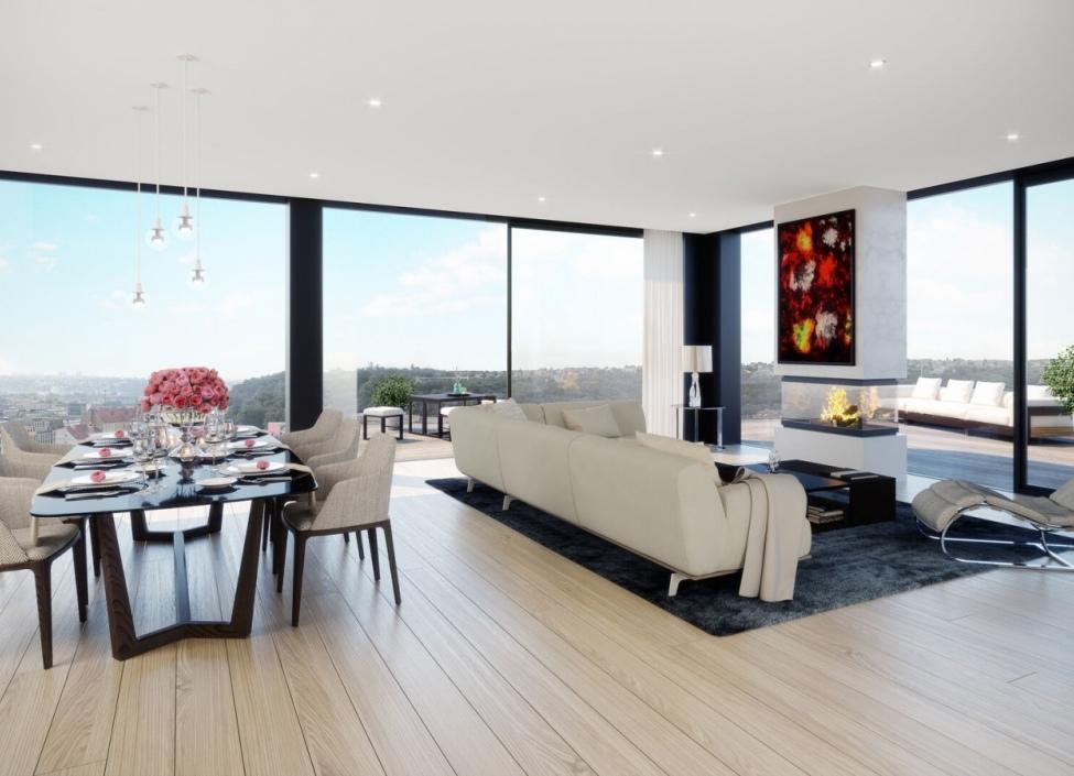 Luxusní byt na prodej na Praze 5 -252m 0