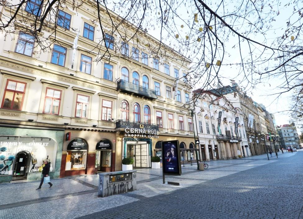 Kancelář k pronájmu v centru Prahy - 215m 0