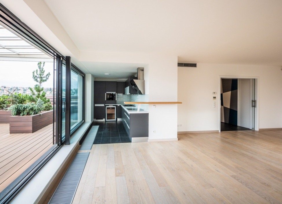 Luxusní penthouse s wellness zónou na prodej Praha 4 1