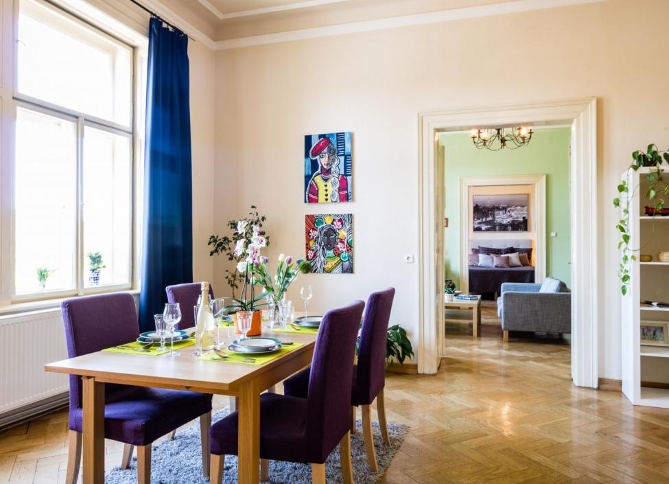 Luxusní byt s výhledem na Hrad 164m 1