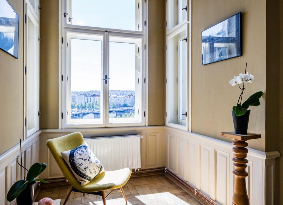 Luxusní byt s výhledem na Pražský hrad 309m 1