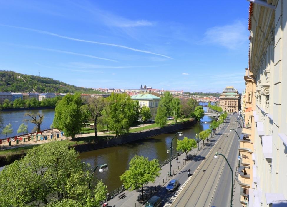 Luxusní byt s výhledem na Pražský hrad 309m 0