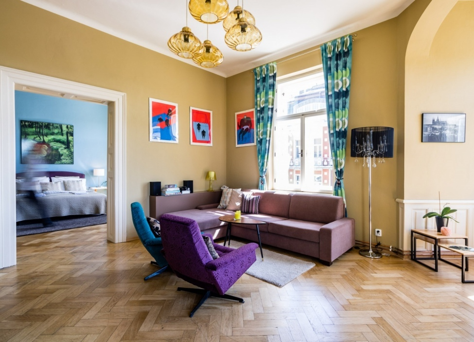 Luxusní byt s výhledem na Hrad 145m 0