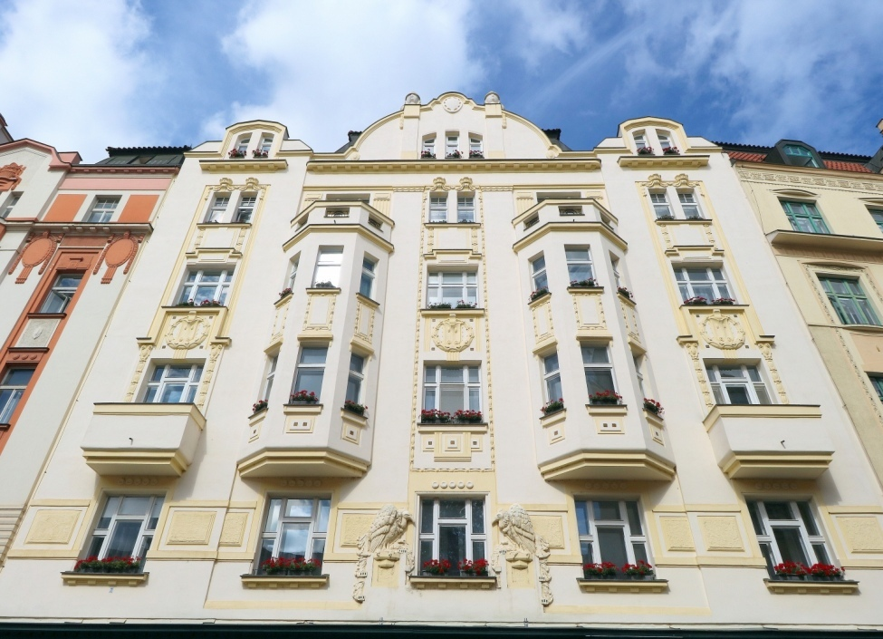 Luxusní byt na pronájem Praha 1 - 92m 1