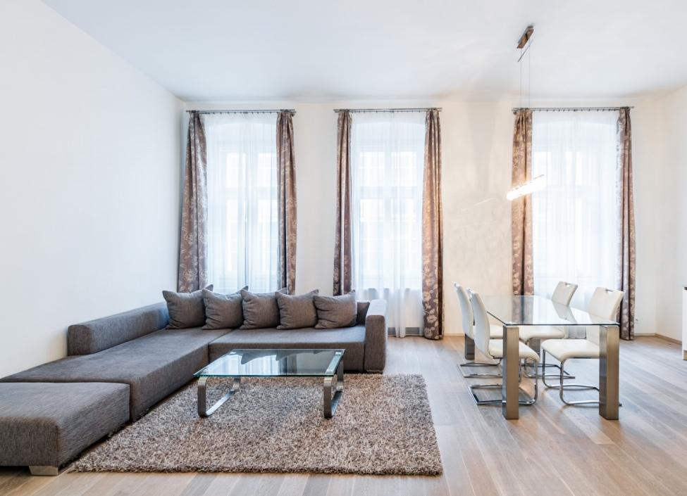 Luxusní byt na pronájem - Praha 1 - Petrská čtvrť - 66m 0