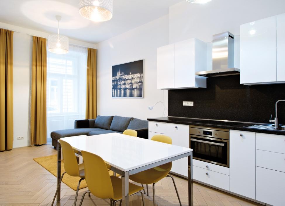 Luxusní byt na pronájem Malá Strana 50m 1