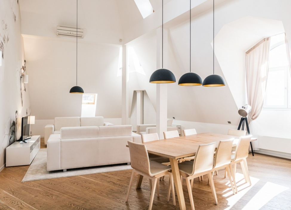 Luxusní byt s terasou Praha 1 - 208m 1