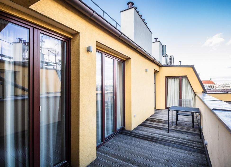 Luxusní byt s terasou Praha 1 - 208m 0