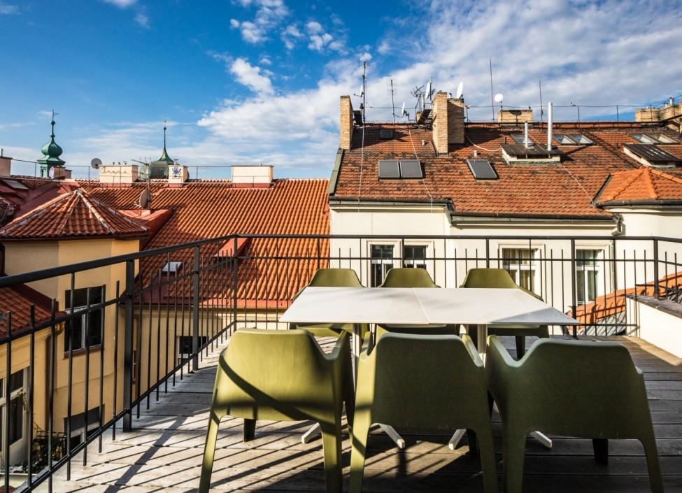 Luxury apartment with a terrace Prague 1 - New Town - 168m 0