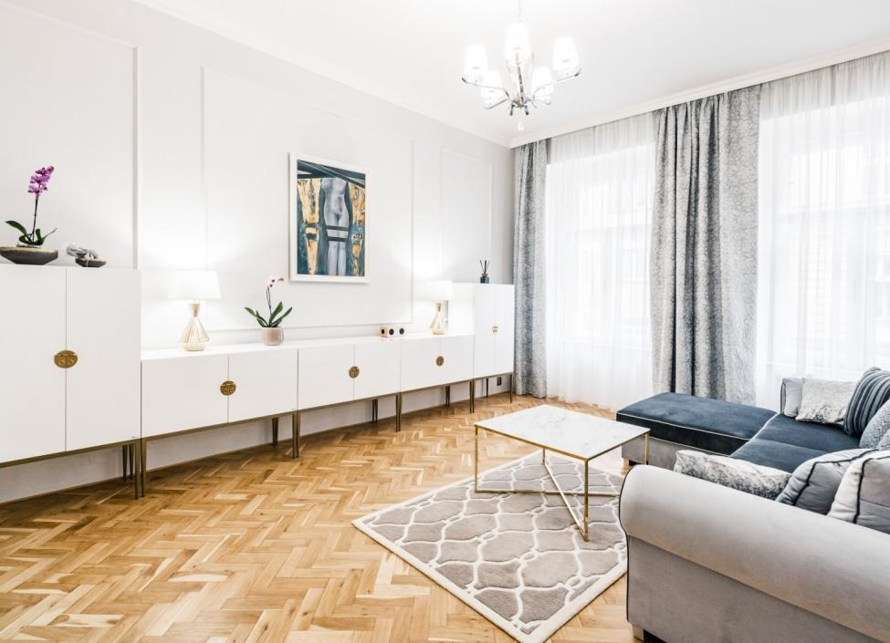 Luxusní byt na pronájem na Vinohradech 140m 0