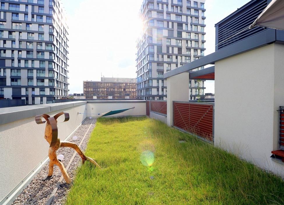 Luxusní byt s terasou Praha 3 0