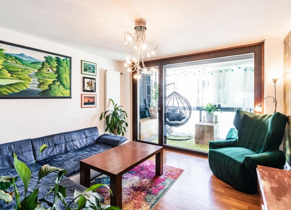 Mezonetový byt s terasami Karlín - 102m 0