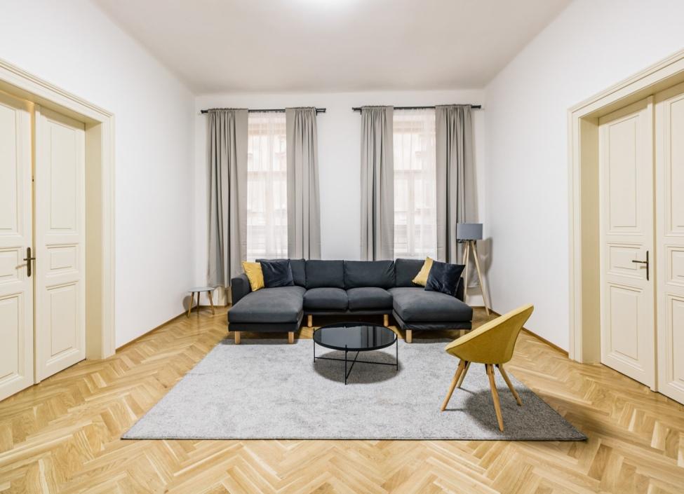 Luxusní byt k pronájmu Praha 1 - Nové Město - 124m 0