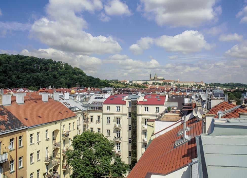 Byt s výhledem na Pražský hrad 420m 0