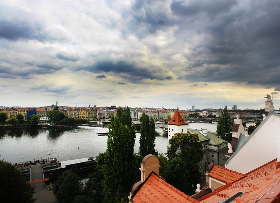 Byt s výhledem na Pražský hrad 420m 1