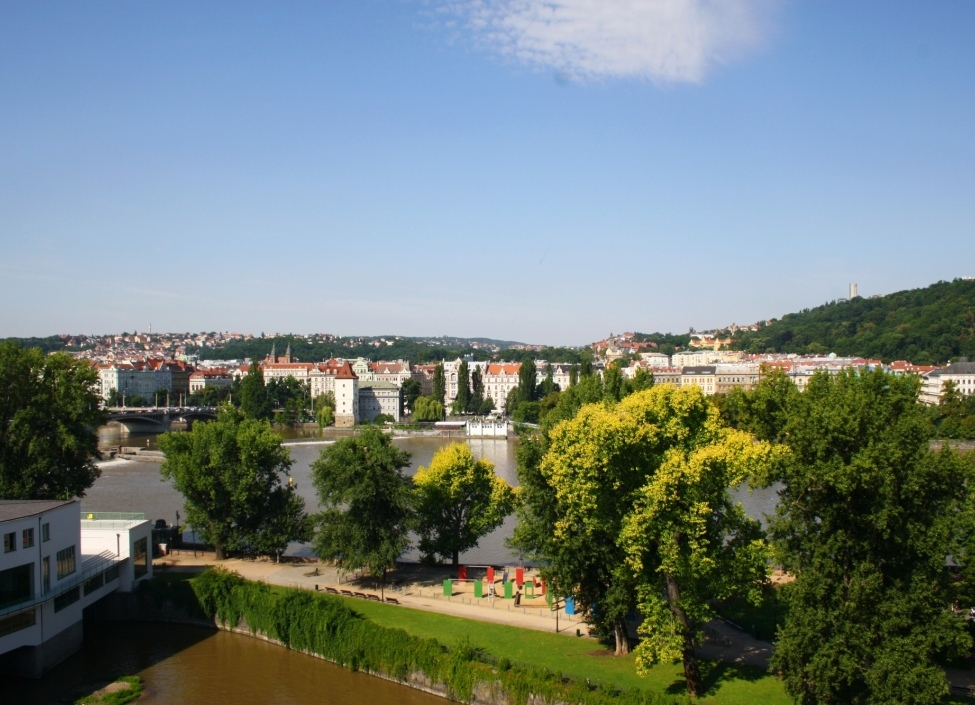 Apartment with the view of Prague Castle 180m 1