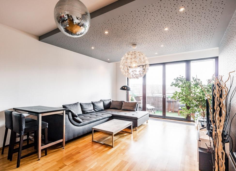 Prodej bytu s terasou Holešovice Praha 7-103m 1