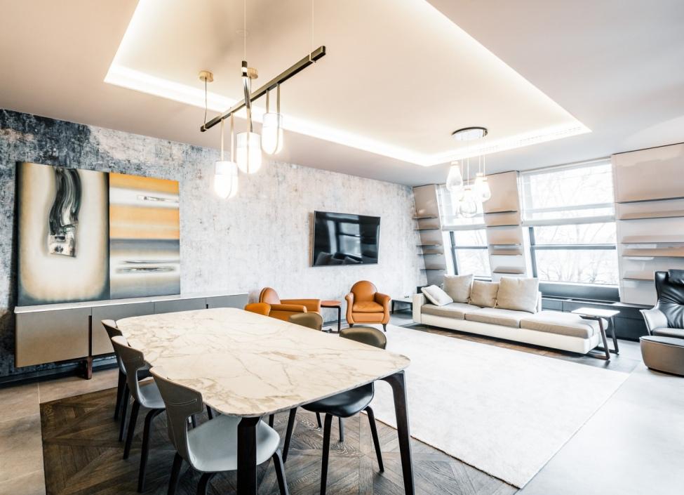 Luxusní byt s terasou Troja 145m 0