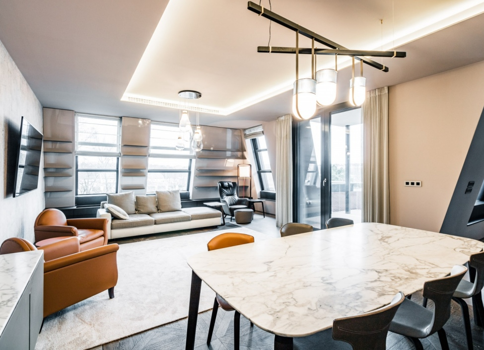 Luxury apartment Troja 176m 1