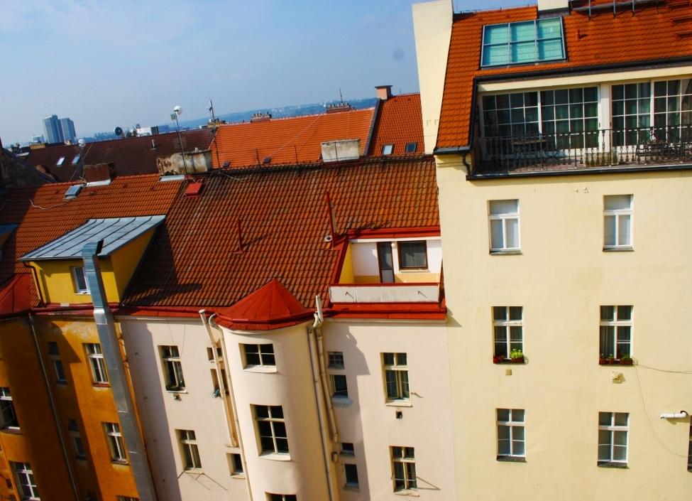 Luxusní byt s terasou k prodeji na Praze 2 54m 0