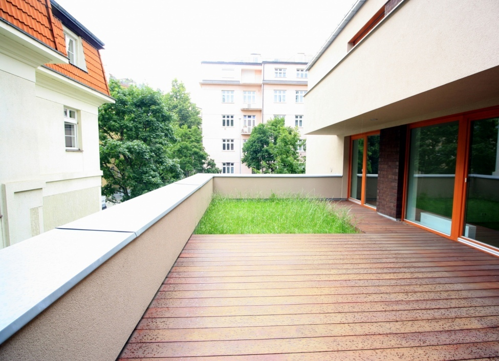 Luxusní byt na prodej v Podolí 131m 0
