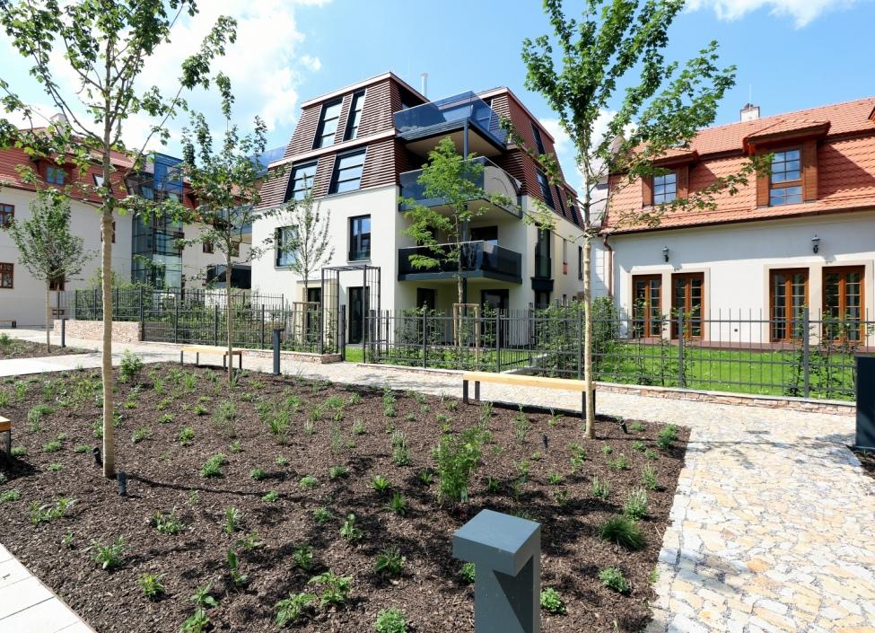 Luxusní byt s terasou na Praze 8 1