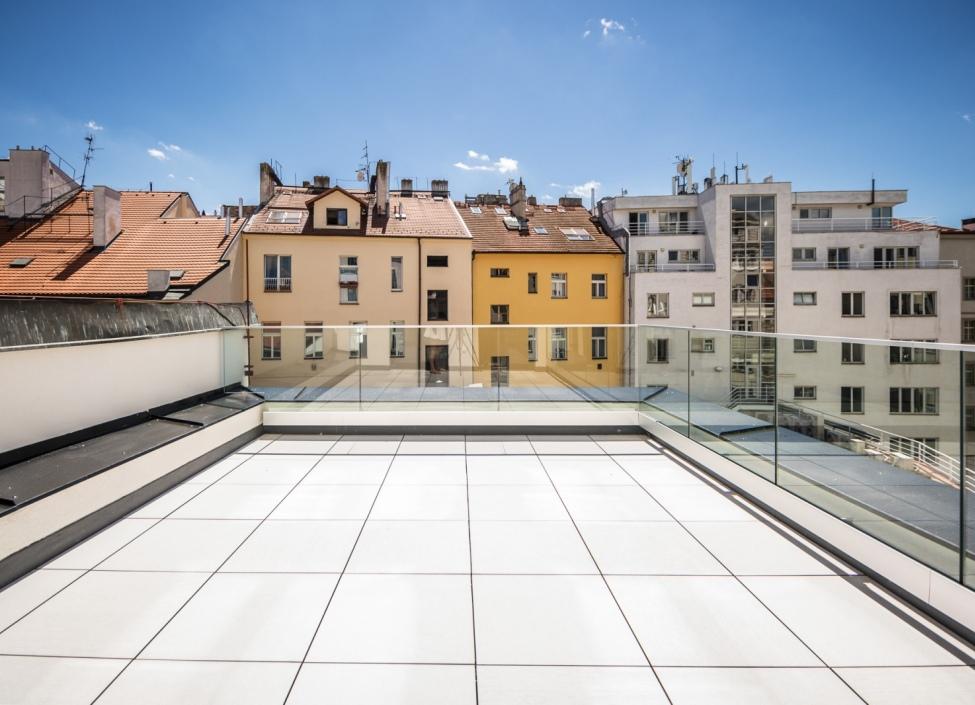 Luxusní byt k pronájmu s terasou - Praha 1 - Nové Město - 102m 1