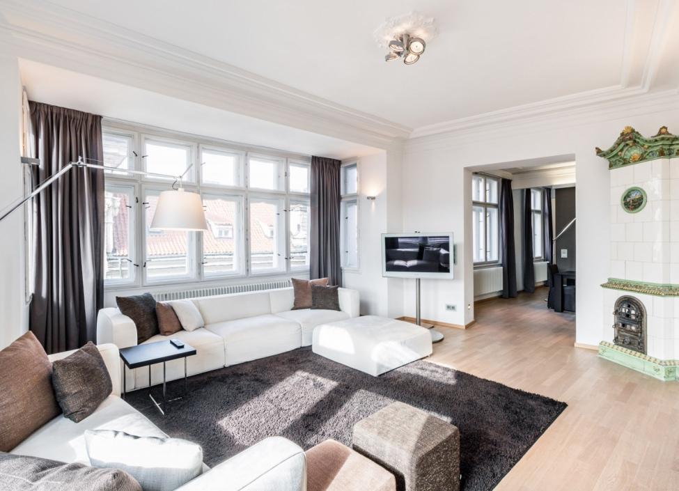 Luxusní byt na pronájem Staré Město - 135m 1