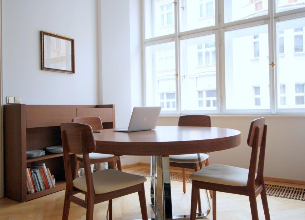 Pronájem kubistického bytu Praha 1 - 111m 1