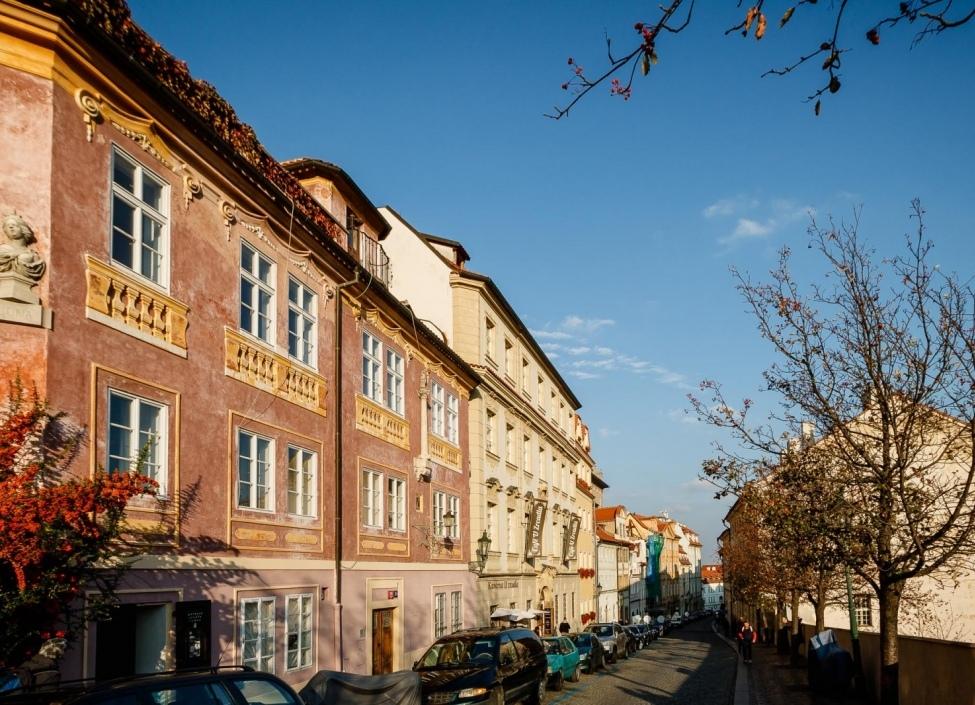 Luxusní byt na prodej v historickém domě Praha 1 - 237m 0