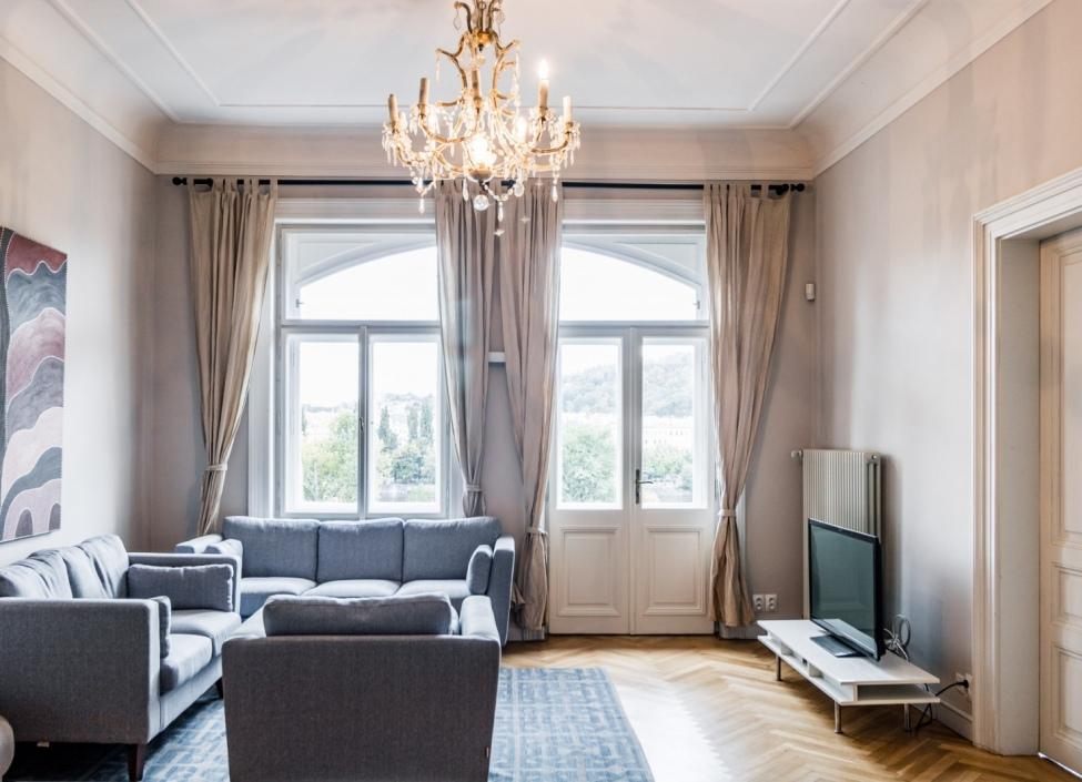 Luxusní byt na pronájem - Praha 1 - Nové Město - 114m 0