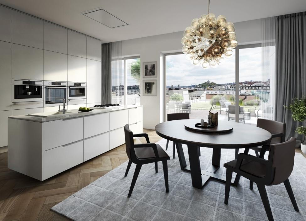 Luxusní byt s balkonem Praha 1 - 104m 0