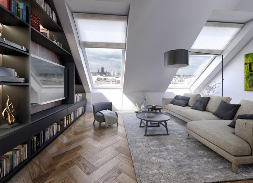 Luxusní byt po rekonstrukci Praha 1 1