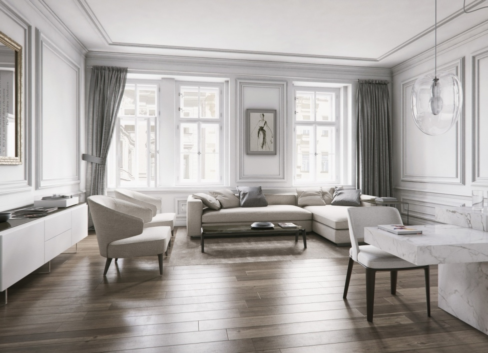 Luxusní byt na Praze 1 96m 0