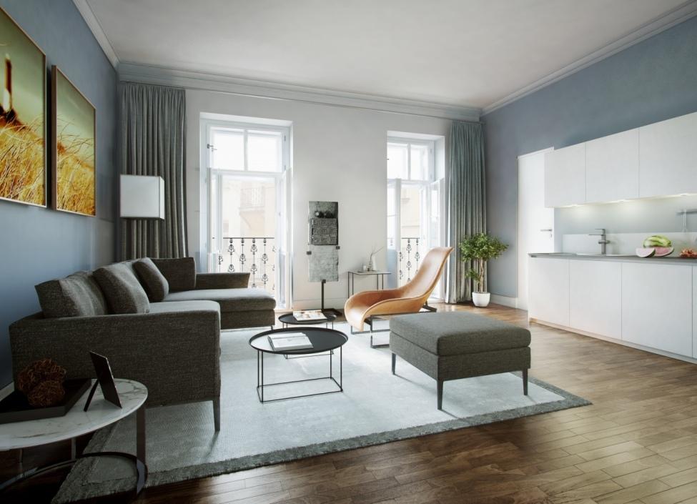 Luxusní byt na Praze 1 88m 0