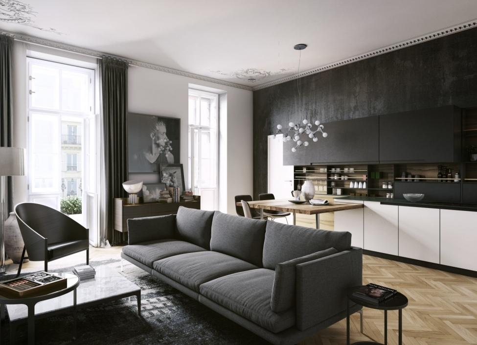 Luxusní byt na Praze 1 88m 1