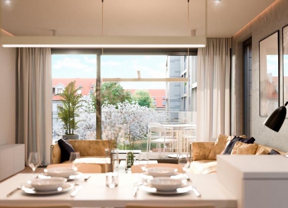 Luxusní byt se zahradou Praha 6 - Vokovice - 397m 1