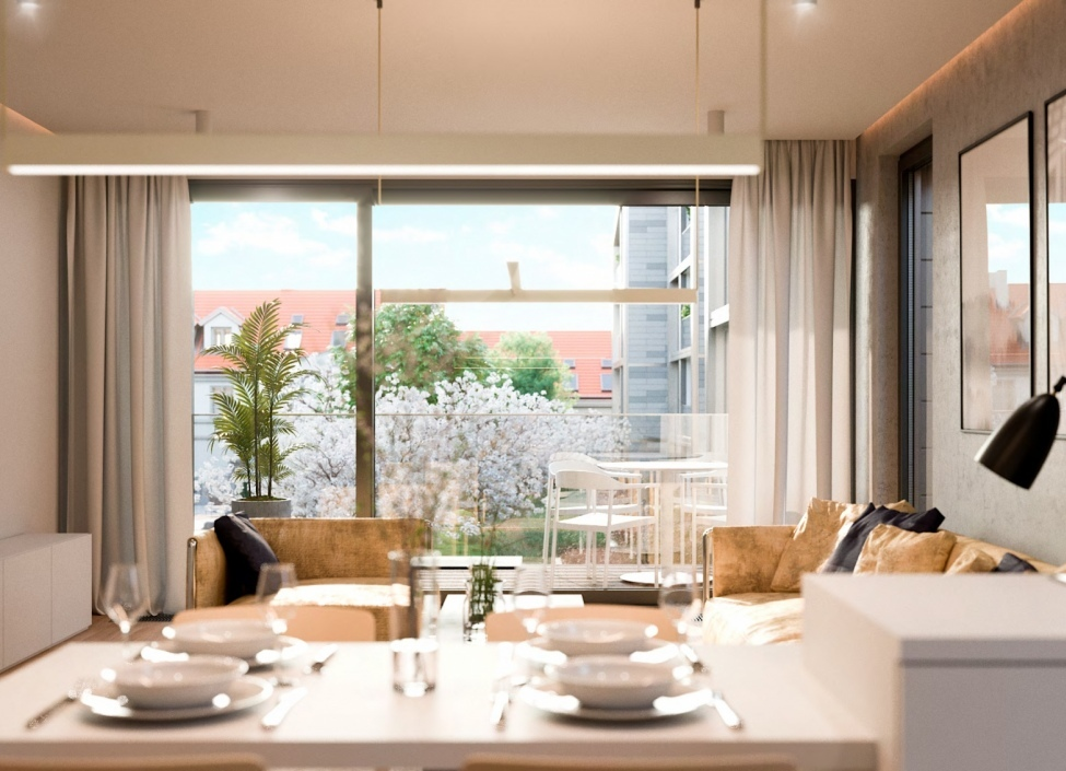 Luxusní byt se zahradou Praha 6 - 234m 1