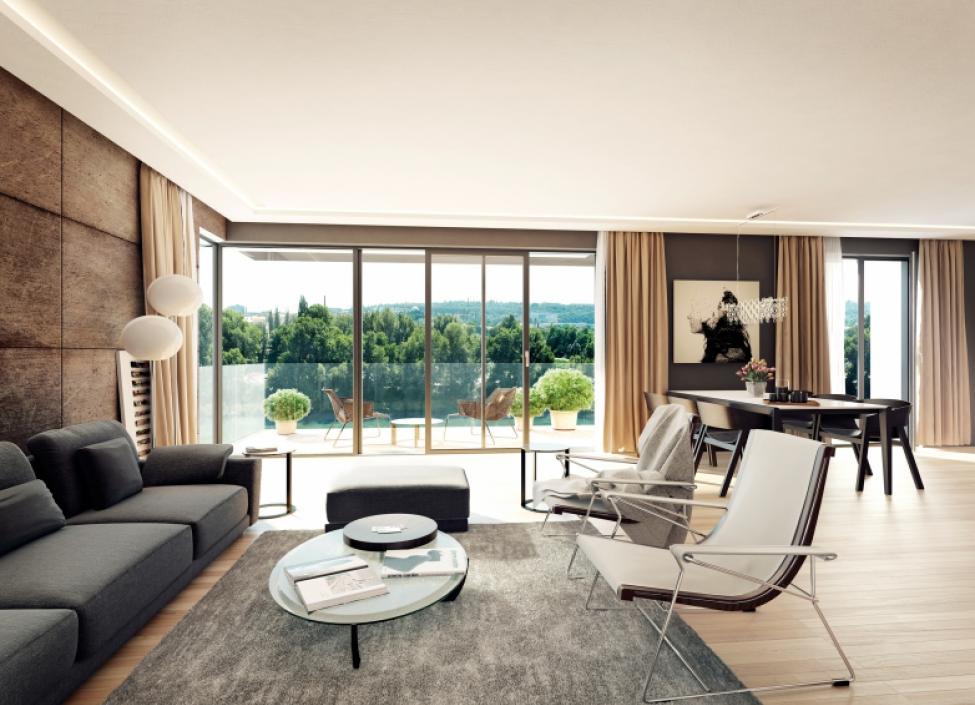 Luxusní byt Holešovice 198m 1