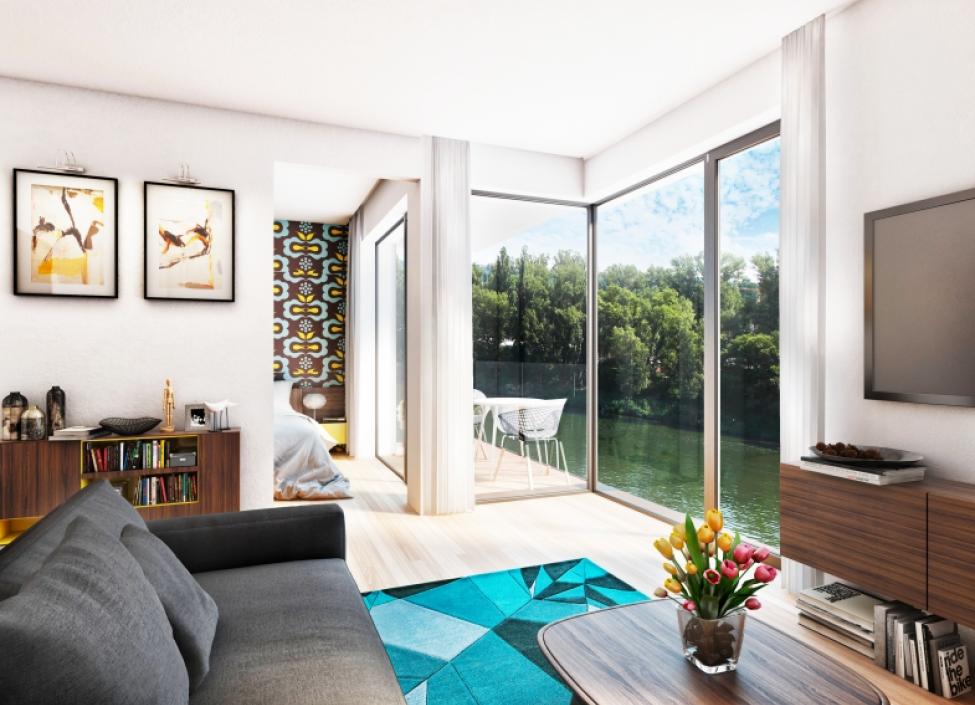 Luxusní byt s terasou, 51m - Praha 7 1