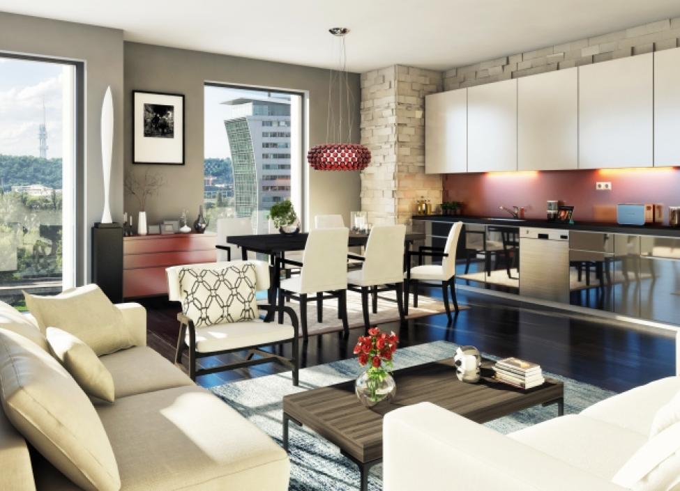 Luxusní byt Praha 7 - 253m 0